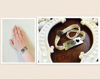 Follow Your Heart Wrap-Around Bracelet