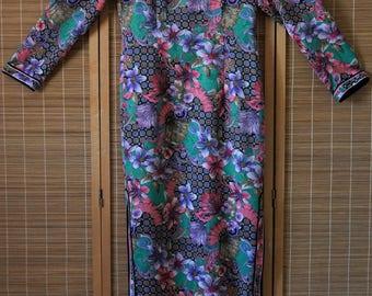 Colorful Vintage Maxi Dress