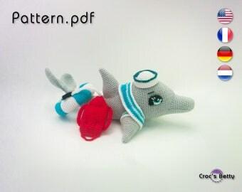 Pattern - Tilt the Dolphin