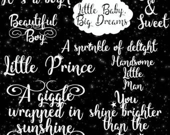 It's a Boy! Baby Boy Overlay, Birth announcement Clip art, Baby Overlay, Newborn Photo Overlays, Baby Text, Baby Boy Newborn Overlays