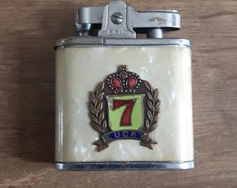 Vintage Lucky 7 lighter Lucky Seven