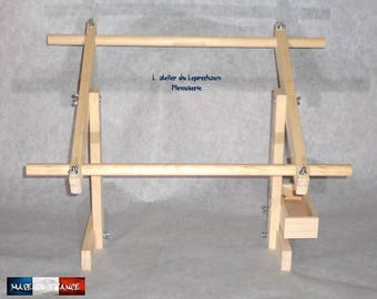 CRAFT embroidery's frame has embroidered adjustable XL