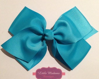 5.5inch flat boutique hair bow, big bow