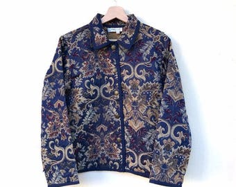 Vintage Upholstery Jacket Years 80