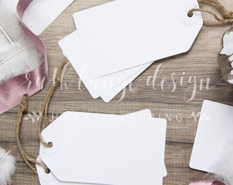 Robbons & Feathers styled stock photo, flat lay background for Hand-Lettering