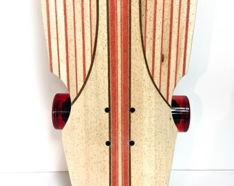Handcrafted custom infused Longboard Skateboard