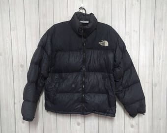 vintage The North Face  Puffer Coat Jacket goose down - Size XL