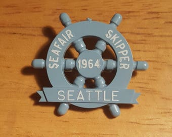 1964 Seattle Seafair Skipper's pin