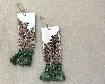 Palapalai - natural with mini tassels
