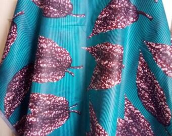 African print boubou kaftan size 26-30 plus size