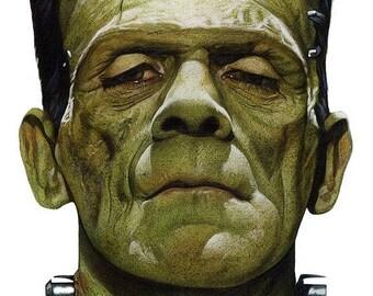 Summer Sale FRANKENSTEIN Movie Poster Horror Vampires Universal Monsters