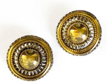 Joan Rivers Clip On Earrings