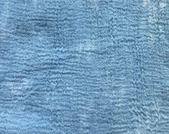 "Hand Dyed Cotton Gauze By Amy Brill Turk Cloudy Sky Cheesecloth American Made 119"" x 50"" Notions Fabric Yardage"