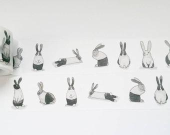 Design Washi tape Bunny Pet