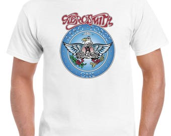 Aerosmith Aero Force One Wayne's World Movie TShirt Mens Womens Kids Sizes