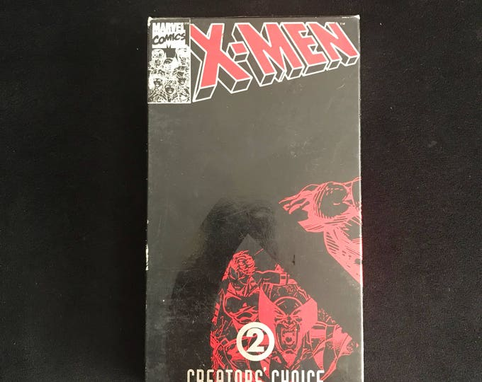 XMEN Creators Choice 2 1990's Vintage Movie VHS