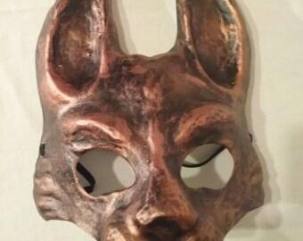 Copper Rabbit Mask