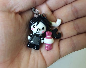 Laughing Jack Charm