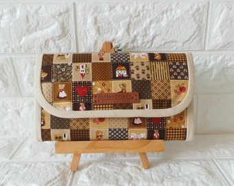 Flap Accordion Wallet - *Country Patchwork*