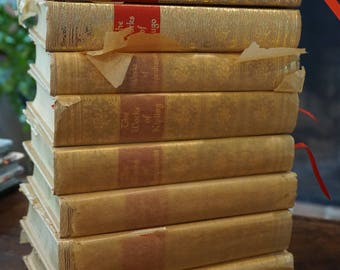 Collection of 8 Black's Readers Service Books/Walter J. Black/1927-1951/ Decorative books/  Never Used/ Famous Authors