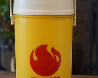 Vintage The 1982 World's Fair Knoxville Tennessee USA Thermos/1982/ Souvenir from the 1982 World's Fair/ Rare