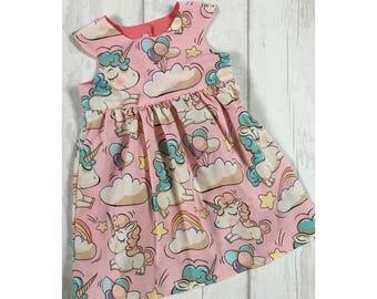 Girls Unicorn Dress Unicorn Dress Toddler Dress Unicorn Birthday Unicorn outfit Birthday Dress Unicorn Unicorn Party Girls Dress Baby Girl