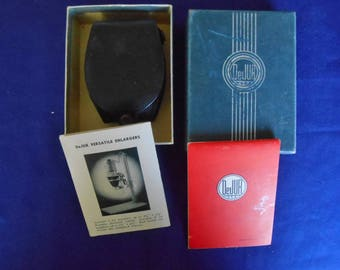 Dejur Model 50A Light Meter with case - original box - manual - and more LIKE NEW