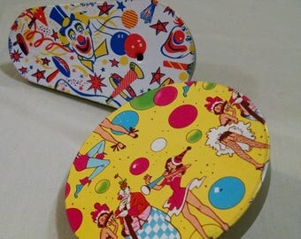 Pair of Colourful Party Noisemaker New Year's Eve