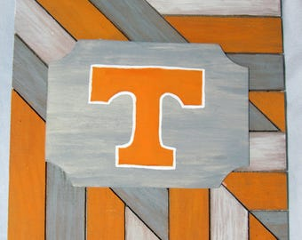 8x8 Tennessee Hand-painted Wood Sign