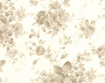 Moda EVENING MIST Quilt Fabric 1/2 Yard By Fig Tree & Co - Pearl/Ecru 32991 12
