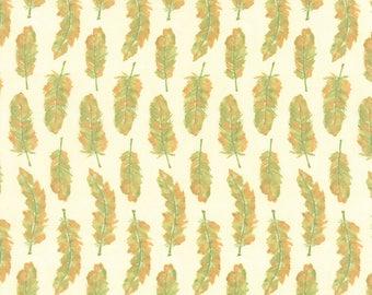 Moda REFRESH Quilt Fabric 1/2 Yard By Sandy Gervais - Cloud/Grass 17864 26