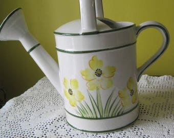 Vintage decorative watering can / Vintage Watering can ornamental