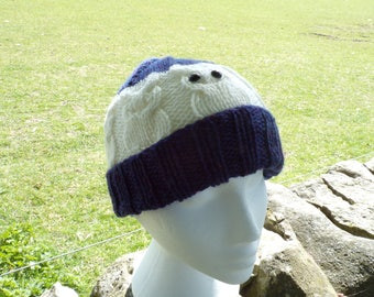 Owlie Hat (Cream Range)
