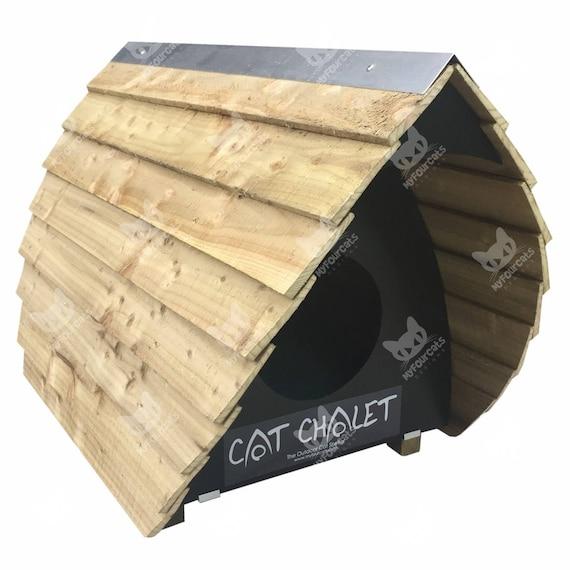 Cat Chalet Cat Shelter Outdoor Cat House