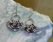 Purple n Silver Chainmail...