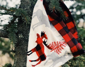 Moose Plaid *xs-Sm only*