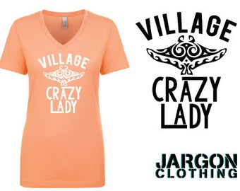 Village Crazy Lady - Sting Ray
