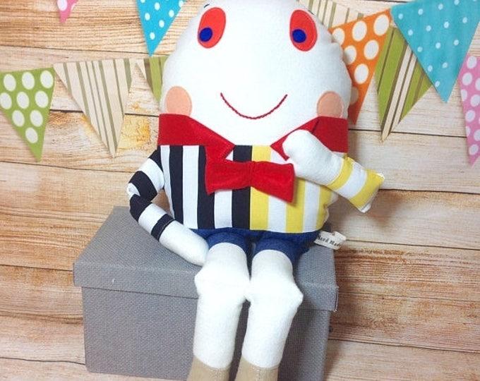 Xmas Humpty Dumpty, Humpty Dumpty Toy, Humpty Dumpty Doll, Nursery Rhyme, Story Book Toy