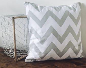 Geometric zig zag cushion