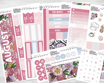"AUGUST MONTHLY VIEW | ""My Happy Place"" Glossy Kit 