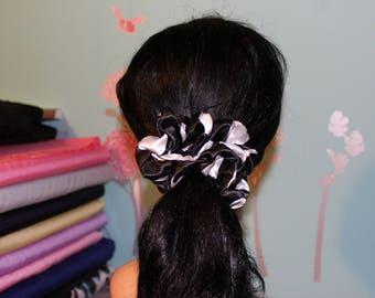 Jumbo SATIN SCRUNCHIE for all hairtypes