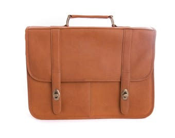 Genuine Vaqueta Leather Briefcase Handcrafted in Colombia