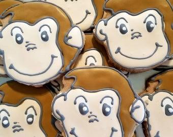 Monkey cookies (12 cookies)