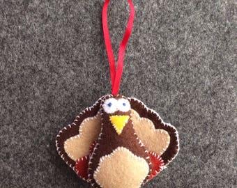 Felt Christmas Tree Ornament, Christmas Decoration, Christmas Ornament, Turkey