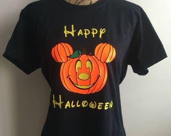 disney halloween shirt happy halloween shirt halloween shirt disney pumpkin halloween shirt