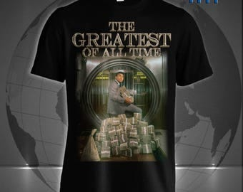 The Greatest of All Time: The G.O.A.T Muhammad Ali tee