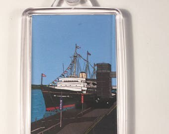 The Royal Yacht Britannia Keyring
