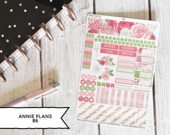 Annie Plans B6 Size Monthly Kit | You pick the month! 197L