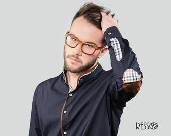 Wooden Eyeglasses, Iron Wood Eyeglasses, Prescription Glasses, Wooden Glasses, Customize Eyeglasses, Iron Wood, Handmade Eyeglasses, RE20