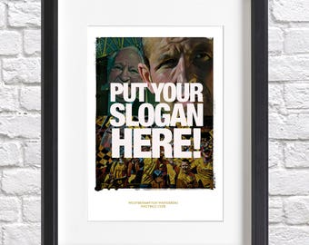 Personalised Slogan - Wolves Acrylic Print